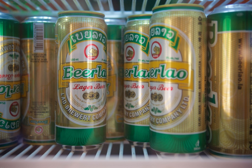 10. Lao Beer (Bia Lao)