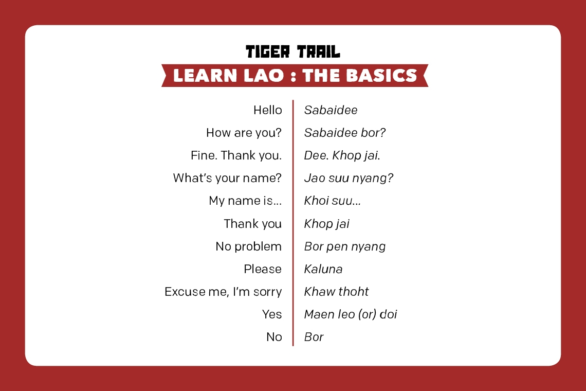 Learn Lao : The Basics