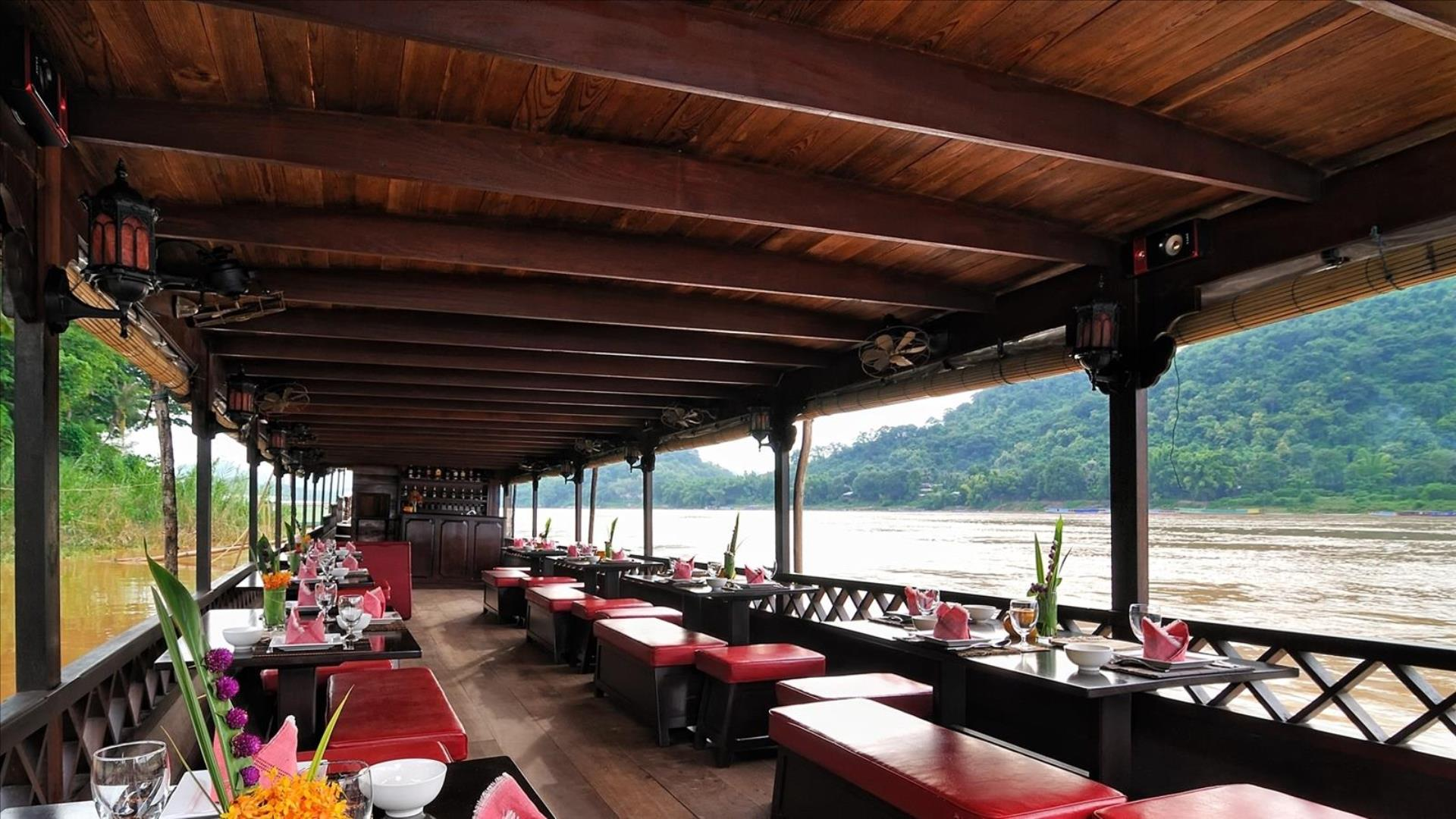 Laos, Luang Prabang : Half Day Mekong Sunset Cruise - Half-Day | Sunset Cruise in Luang Prabang