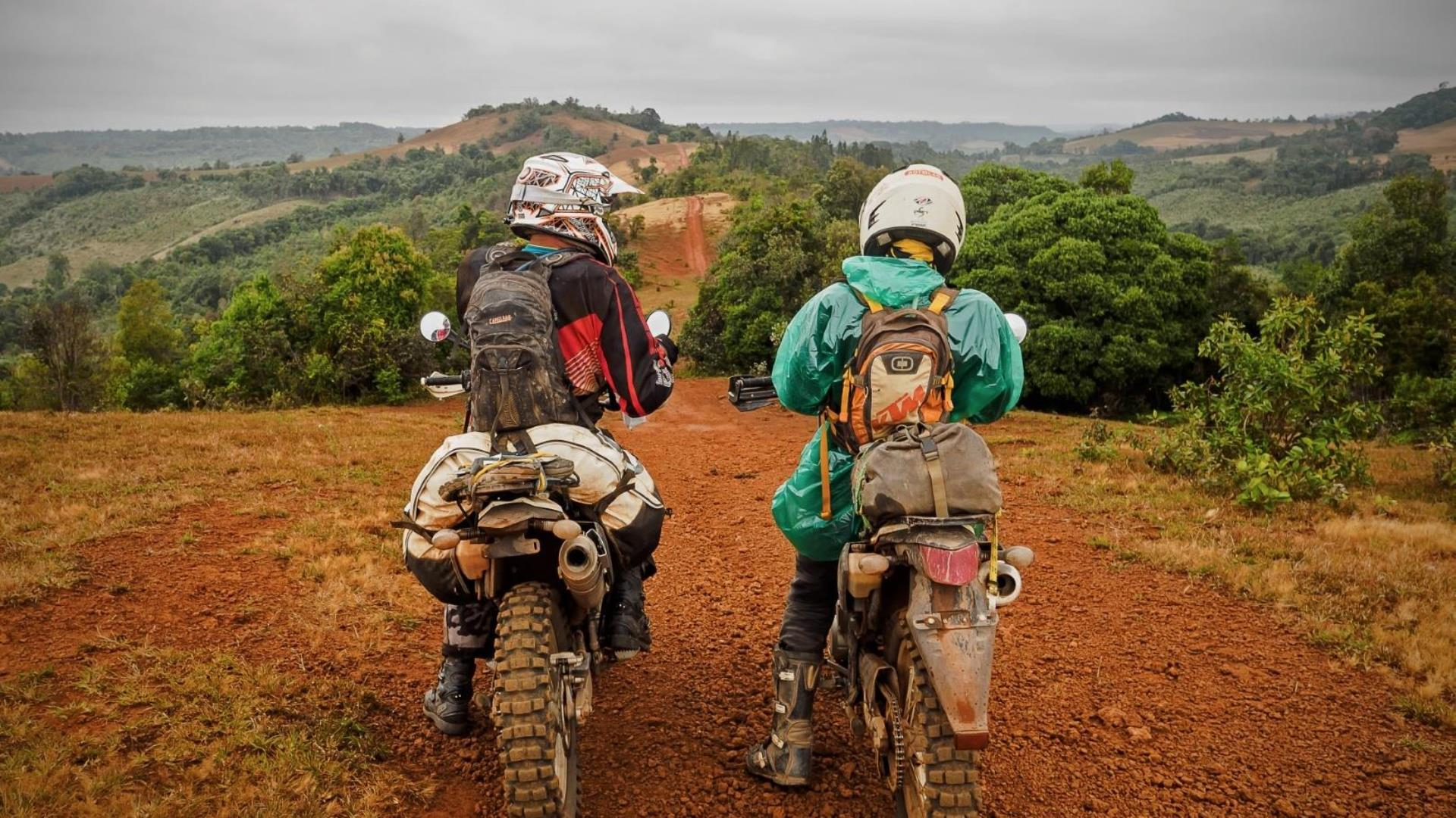 Northern Laos:  Jars, Secret Mountains and Hot Spring Motorcycle Tour - 7 Days Secrets in the east and plain of jars exploring valleys in the north