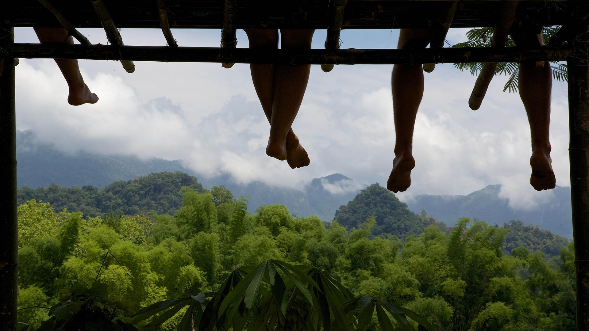 Laos, Luang Prabang:  Half day Nam Khan River Kayaking -  Half-Day | Paddle Through the Jungle