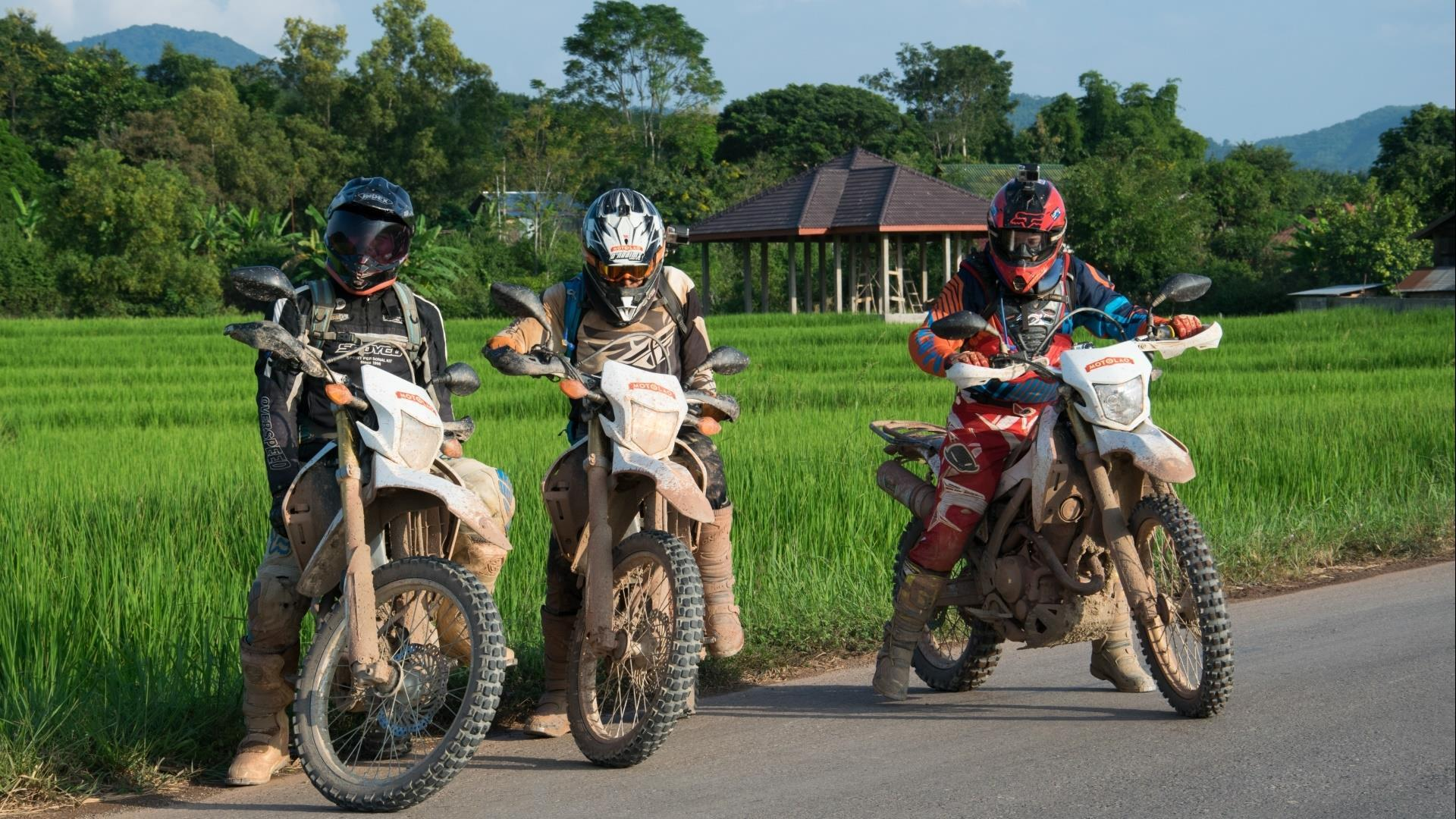 Luang Prabang – Nong Khiaw: River Valley Motorcycle Explorer - 3 days | Explore rivers and waterfalls
