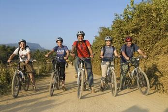 Biking in Laos, cycling Laos information