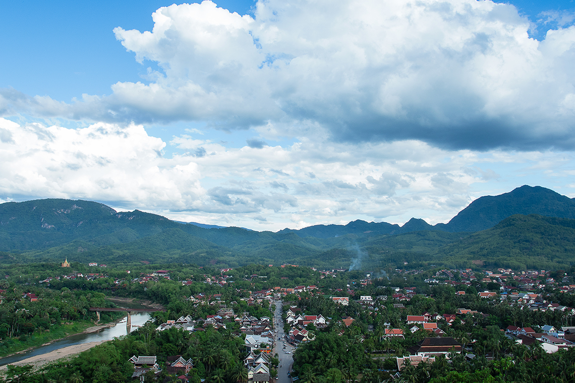 Luang Prabang - View from Mount Phousy