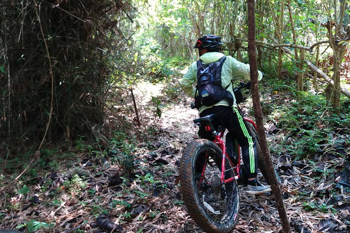E-biking Laos - Exploring the Jungle