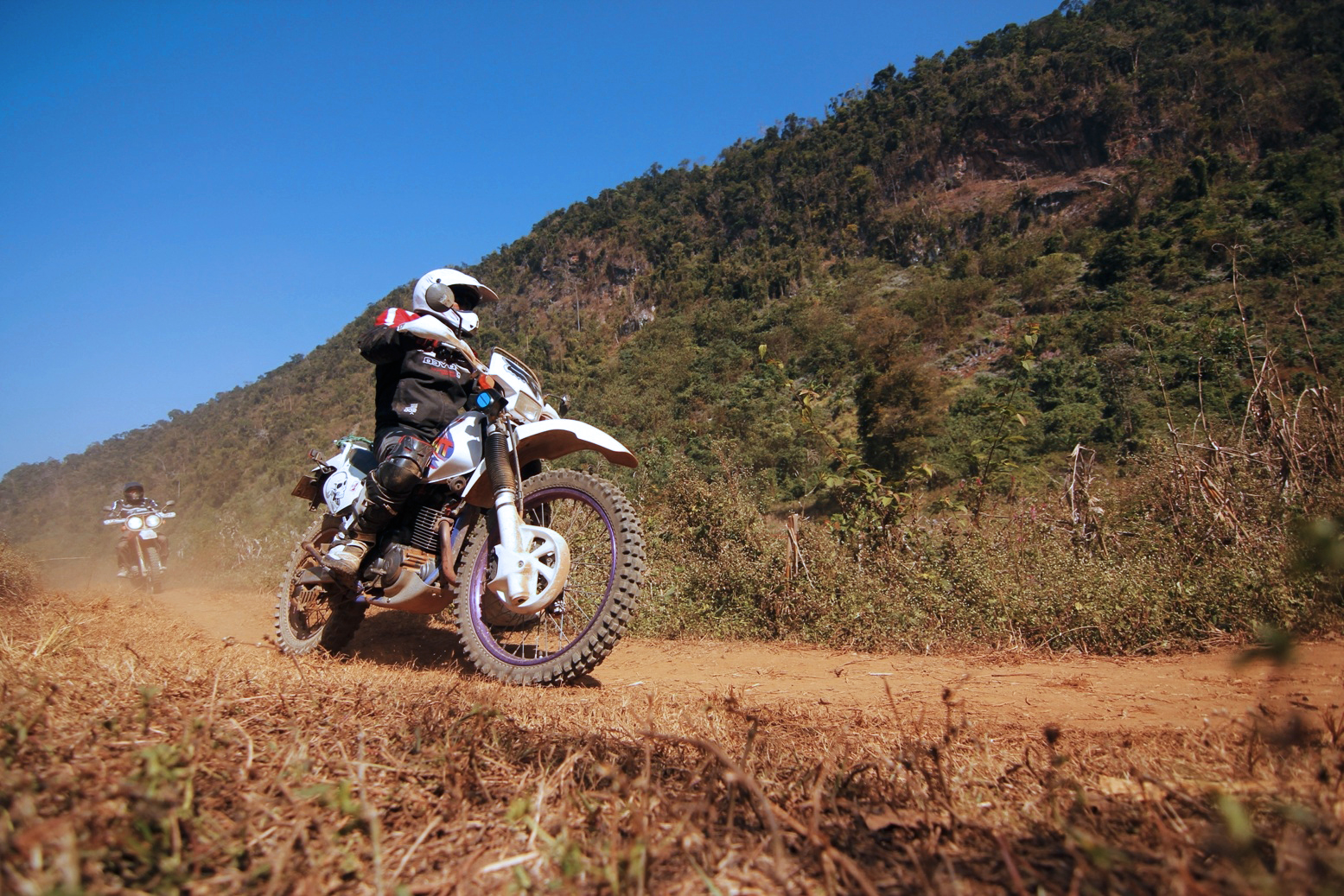Riding on diverse terrains