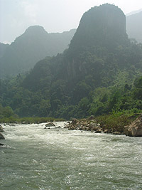 Kayak Laos tour